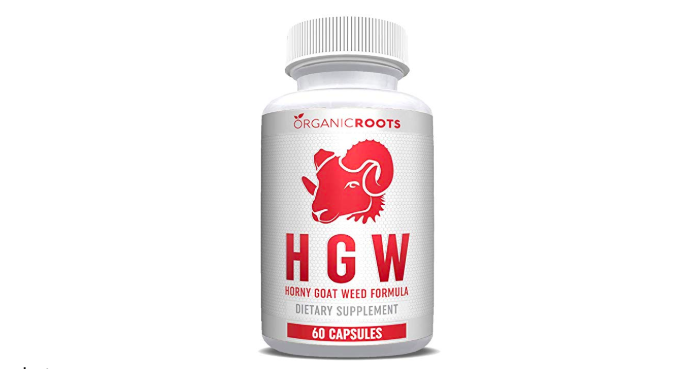 Organic Roots' Horny Goat Weed Extract Extra Strength