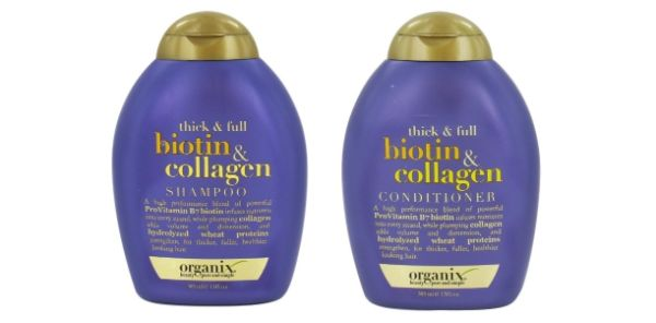 9. Organix Thick & Full Biotin & Collagen Shampoo