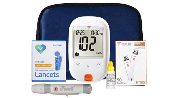 O'Well and Tyson Bio Blood Glucose Monitoring Kit