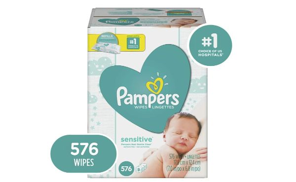 3. Pampers Baby Wipes