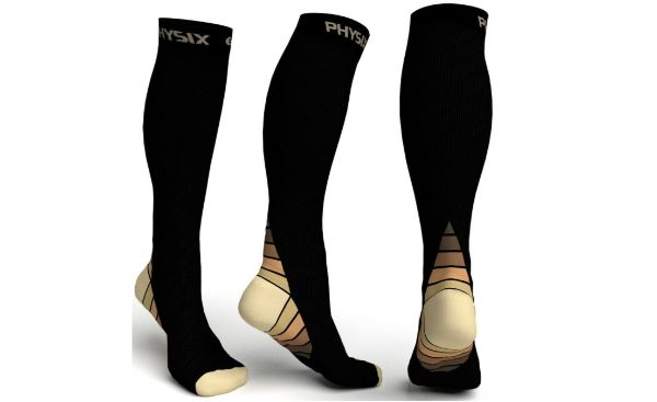 Physix Gear Sport Compression Socks for Women