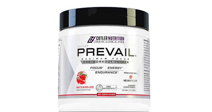 Prevail Pre-Workout Powder