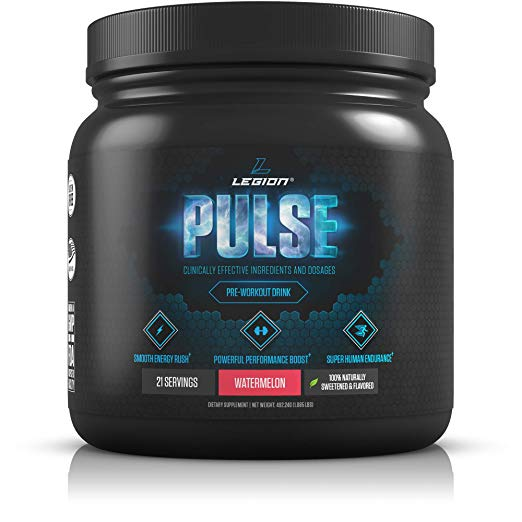 8. Legion Pulse pre-workout Supplement