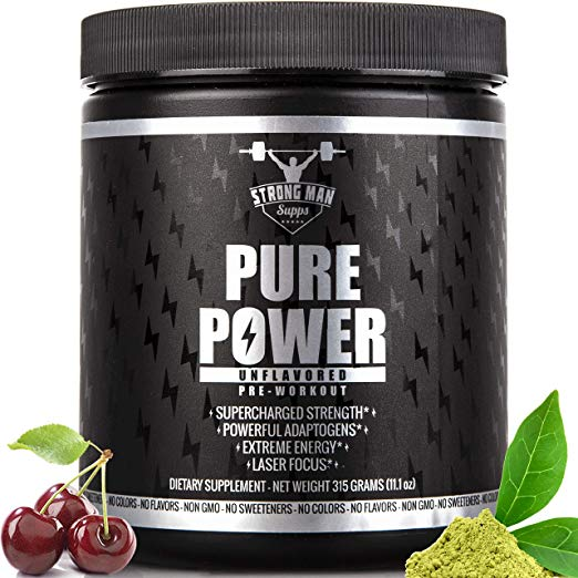 6. Pure Power pre-workout