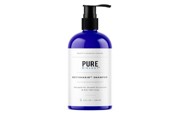7. Pure Biology RevivaHair Shampoo