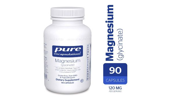 6. Pure Encapsulations Magnesium Glycinate