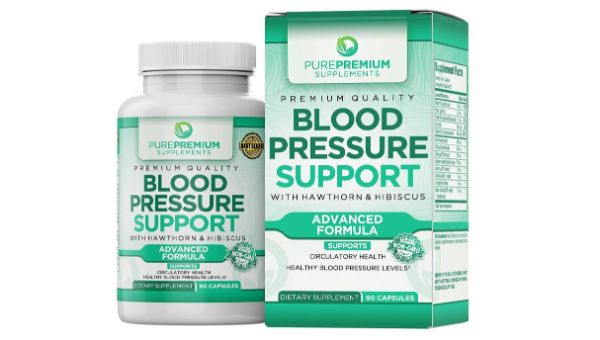 2. PurePremium Supplements Blood Pressure Support