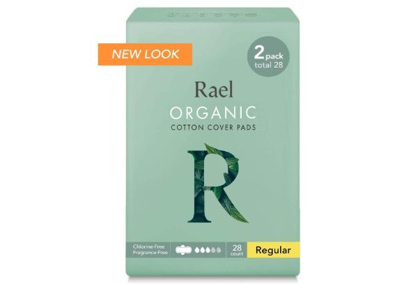 14. Rael Organic Cotton Cover Pads