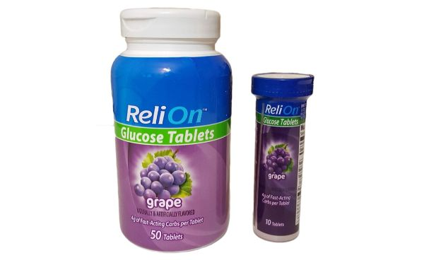 3. ReliOn Glucose Tablets