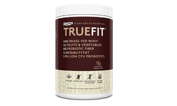 RSP Nutrition TrueFit Grass Fed Lean Meal Replacement Protein Shake