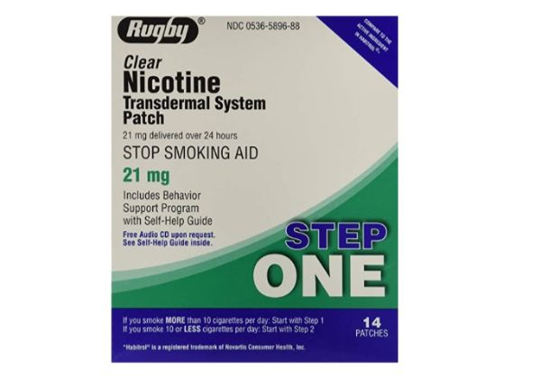 Rugby Clear Nicotine Transdermal System Patch