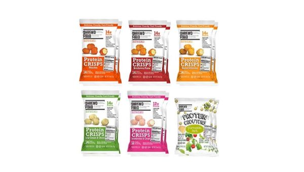 Shrewd Food Protein Crisps