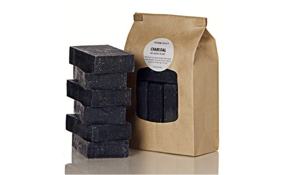 Simplici Activated Charcoal Unscented Bar Soap