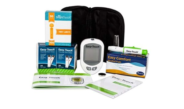 Slight Touch and Easy Touch Diabetes Testing Kit
