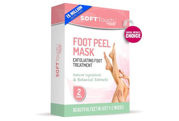 11. Soft Touch Foot Peel Mask