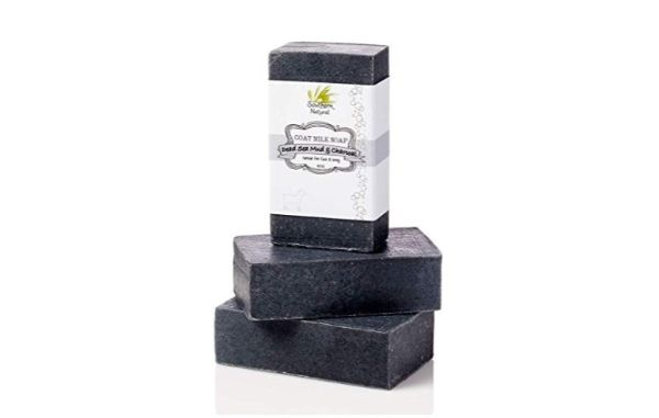 Southern Natural Activated Charcoal Soap Bar with Dead Sea Mud