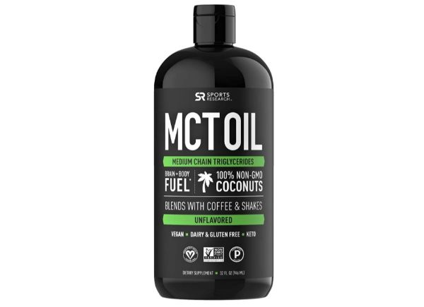 6. Sports Research MCT Oil