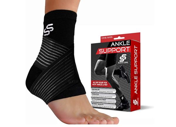 17. SS Sleeve Stars Ankle Support