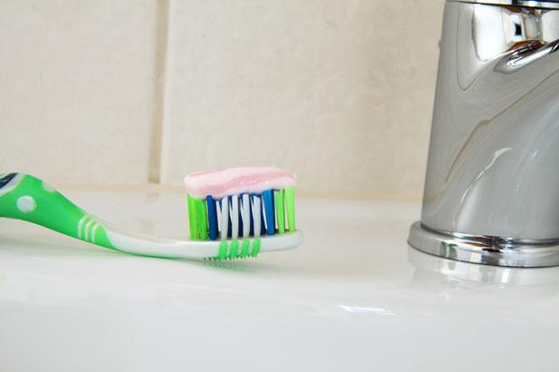 Toothbrush thrown out after illness