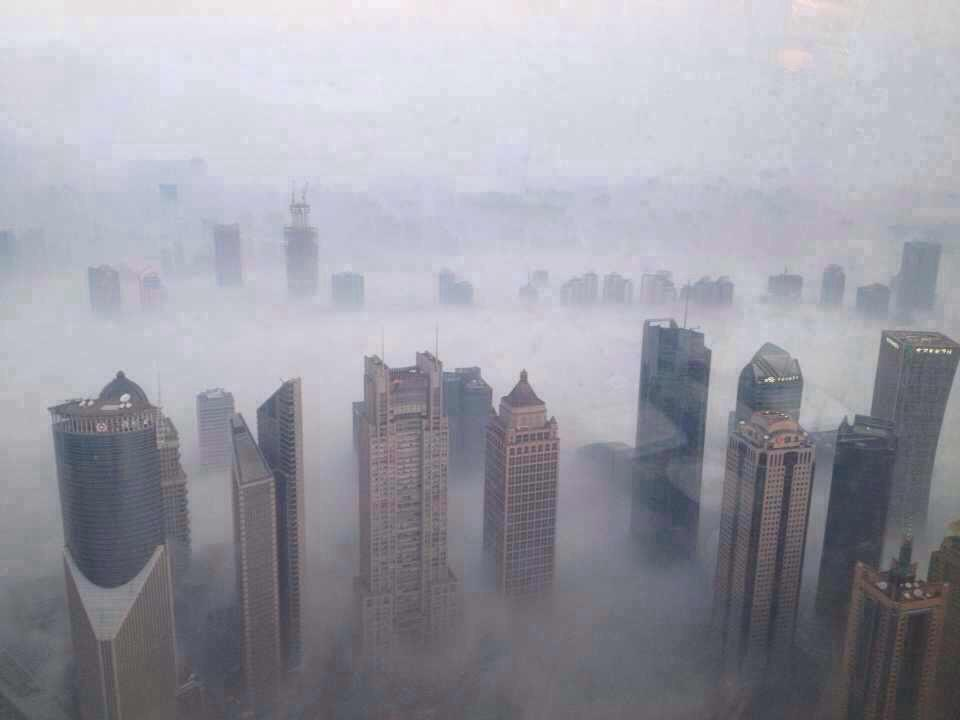 Shanghai Experiencing Severe Winter Air Pollution