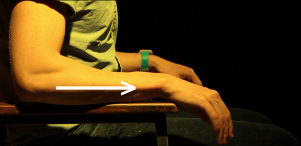 Use an arm chair