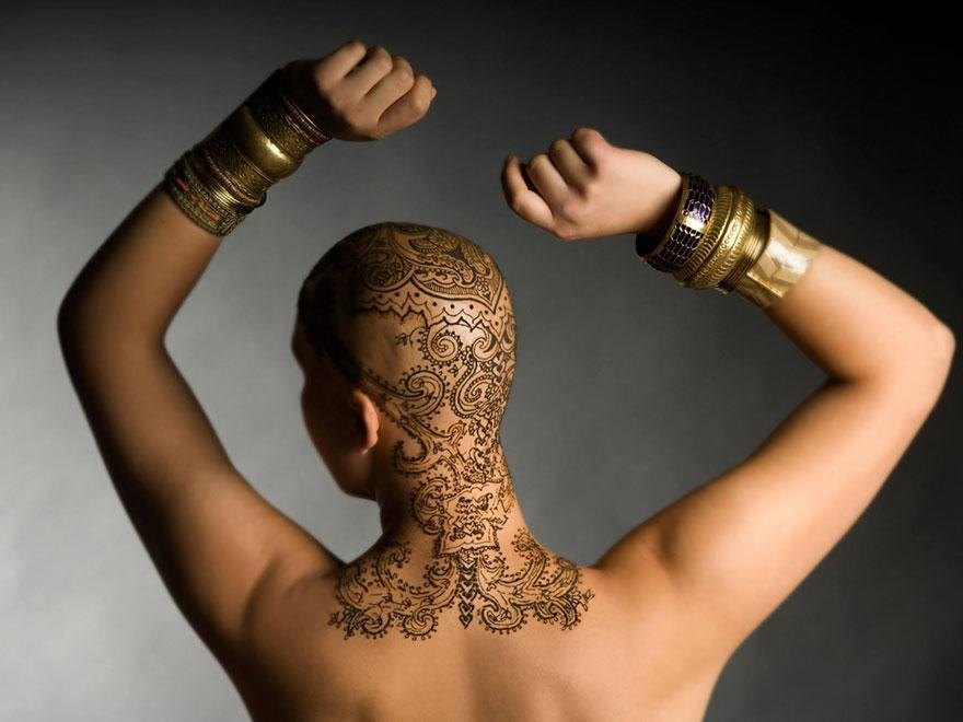 Henna Tattoo How Long Does It Last : Overcoming cancer with henna heals global artist community