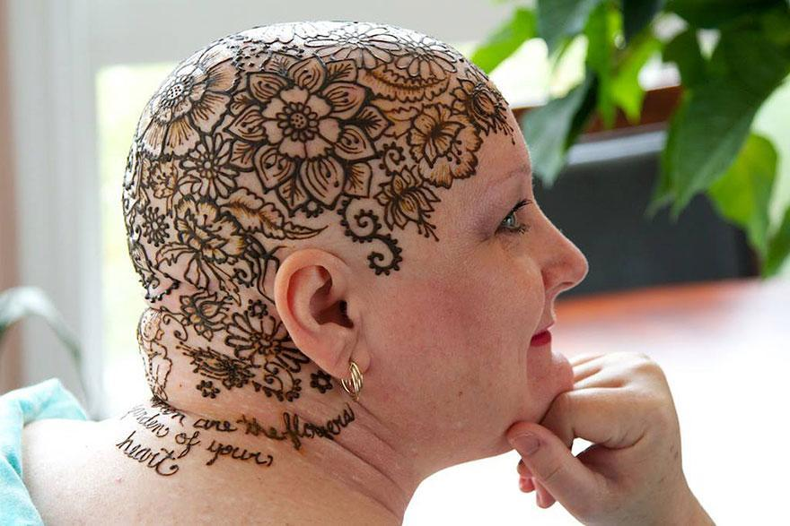 Overcoming Cancer With Henna Heals Global Artist Community Empowers