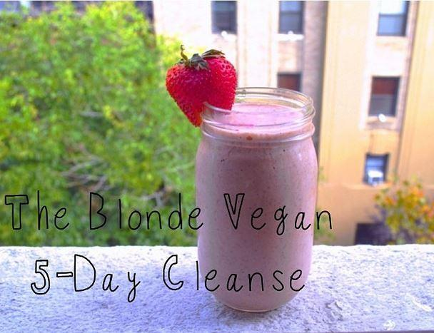 The Blonde Vegan Cleanse Courtesy of Jordan Younger