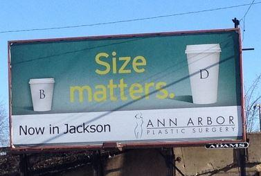 Muffin Top Billboard In Michigan Given An Unexpected