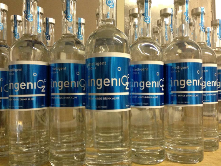 IngeniOz contains zero impurities, and less likely to cause hangovers