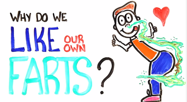 The Reasons Why We Like Our Own Farts