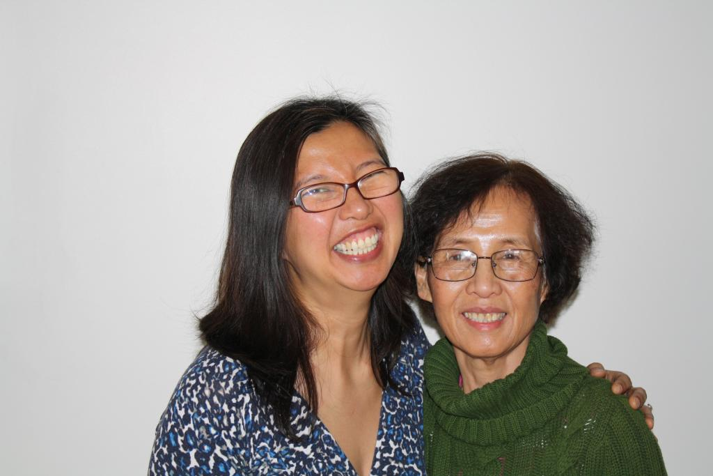 Yip-Williams and her mother