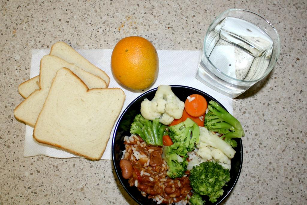 1 Week Prison Food Diet Reveals Problems With Inmate Meals