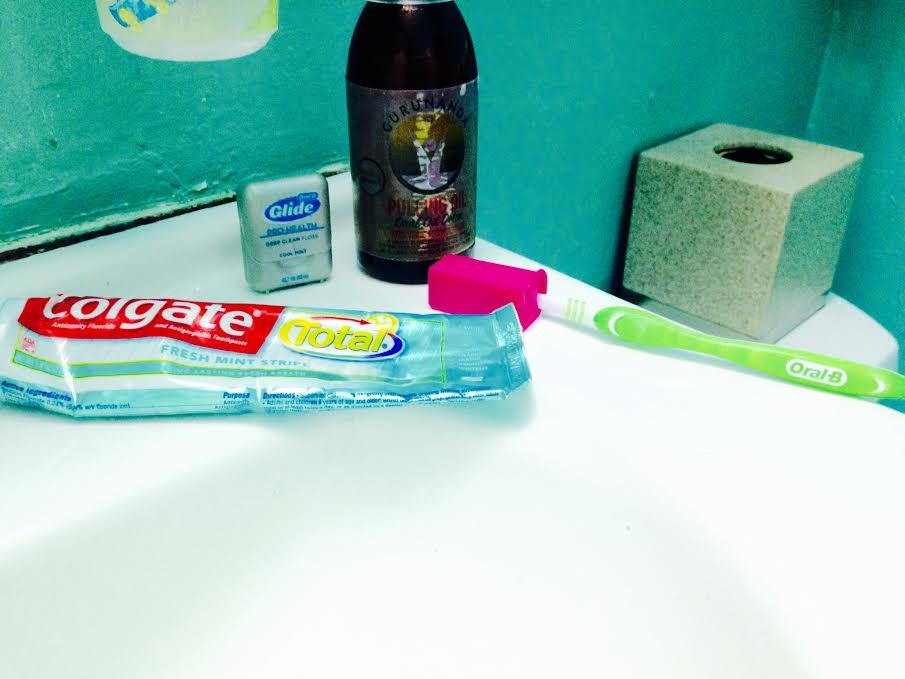 Oral care routine