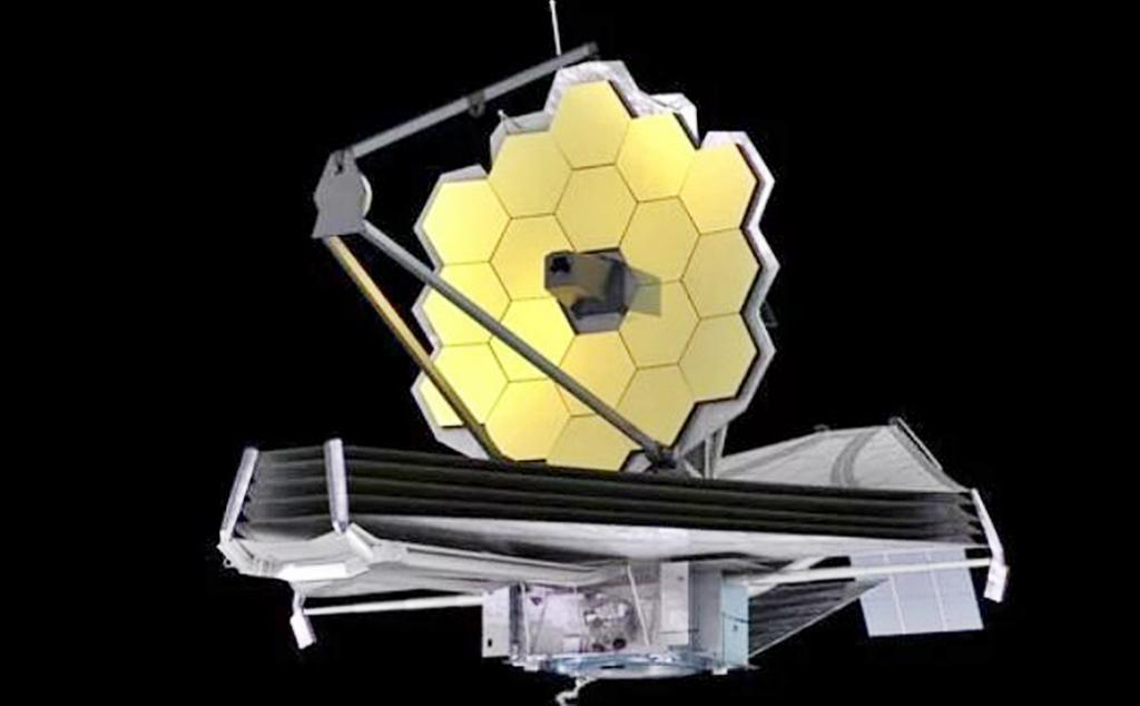 The James Webb Space Telescope (illustration)