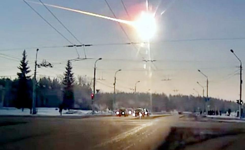 The meteor that exploded over Chelyabinsk, Russia