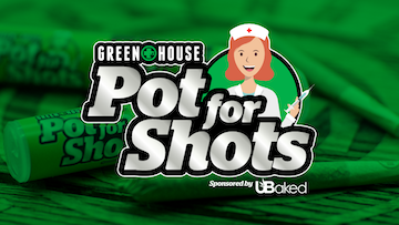 Pot For Shots - Hero Logo w Picture