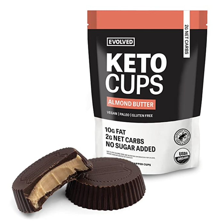 Chocolate Almond Butter Keto Cups
