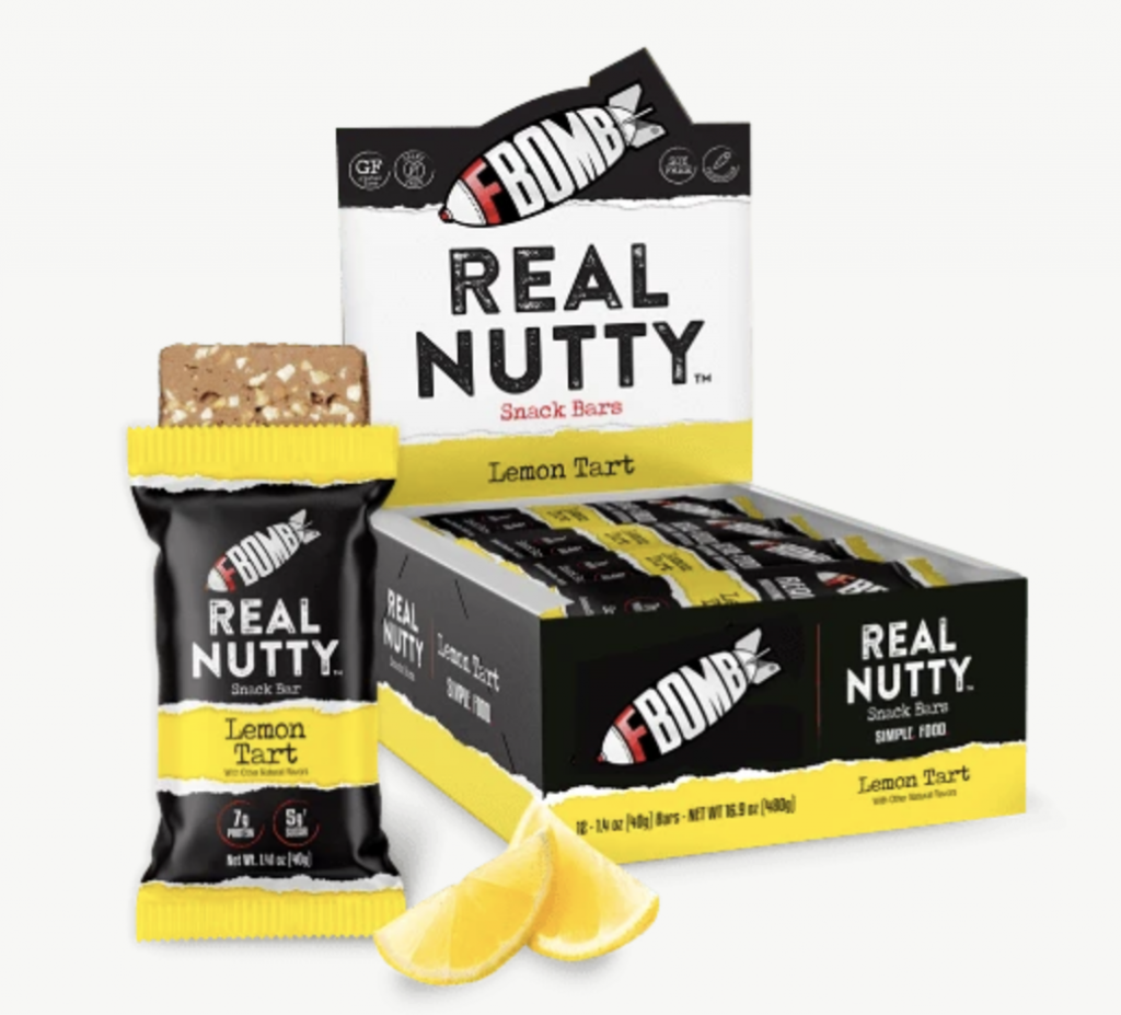Real-Nutty Bars (12-Pack)