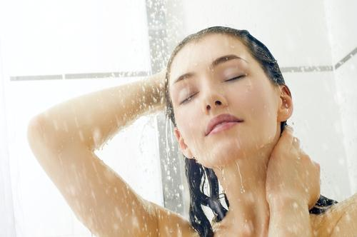Image result for skin care tips cold water shower