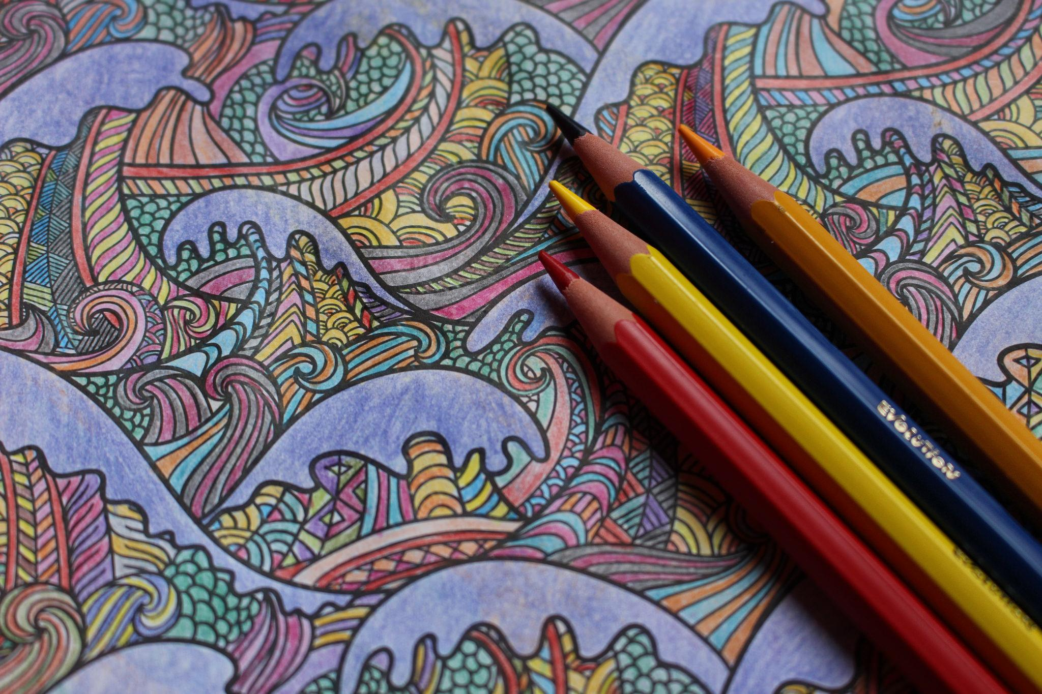 - The Therapeutic Science Of Adult Coloring Books: How This