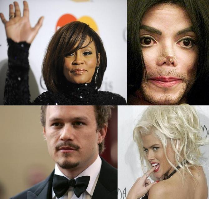 10 Famous People Ruined By Drugs - YouTube