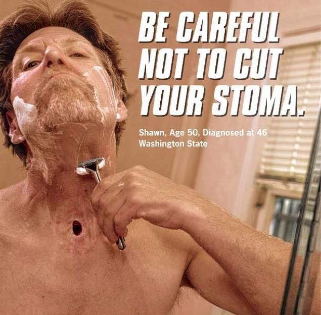 One of the print ad by the CDC