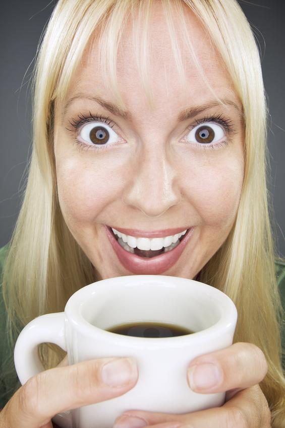 this is how i look when i have tea