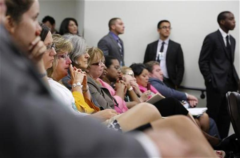 Attendees of a White House Community Leaders Briefing on Seniors Issues