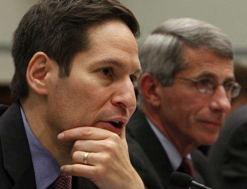 Director of CDC Thomas Frieden and Director of the NIAID Dr. Anthony Fauci