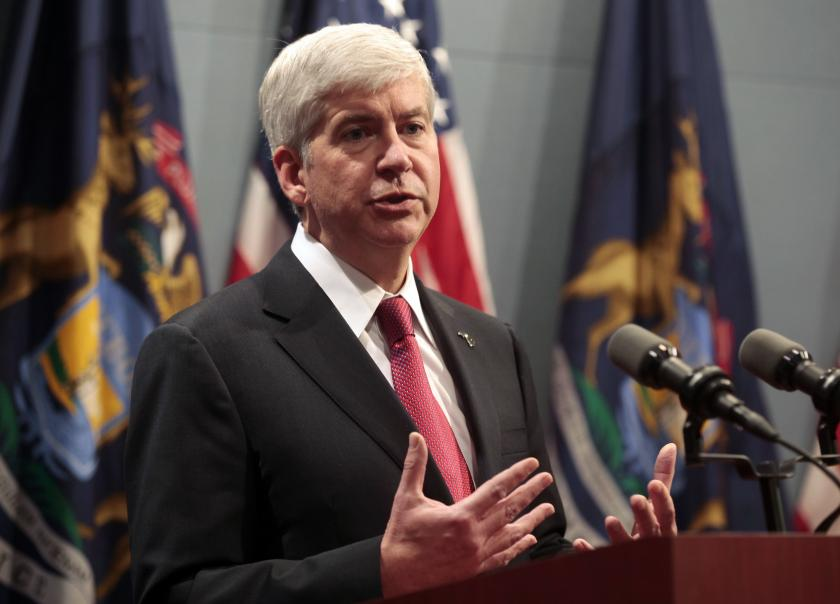 Michigan Governor Rick Snyder