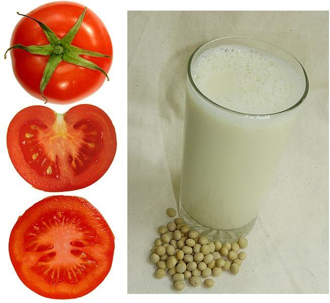 tomatoes and soy