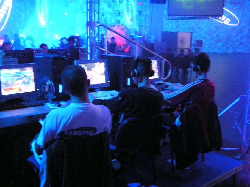 World Cyber Games 2004 Finals at Warsaw Fair Center EXPO of XXI.