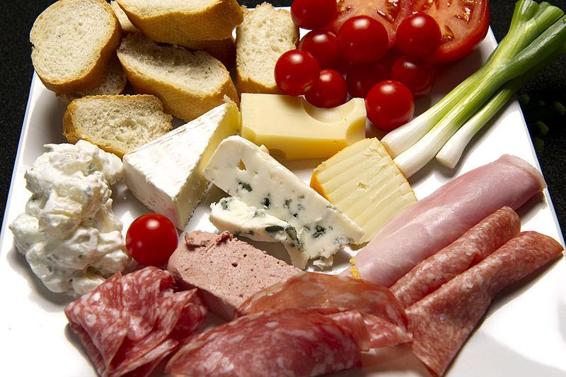 deli meats and soft cheese